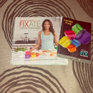 Fixate Cookbook with Bonus 21 day fix book